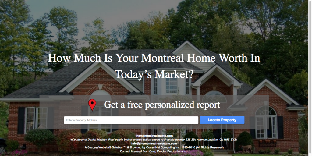 Montreal Home Evaluation