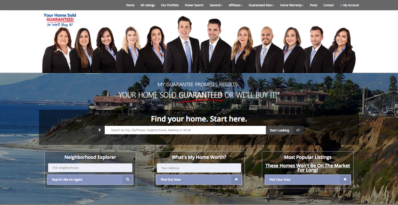 SuccessHDX Branded Listings Portal Example