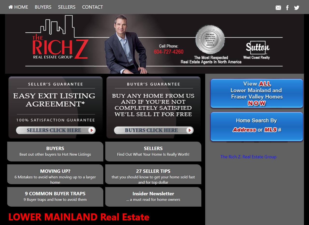 Branded SuccessWebsite Example - Customization