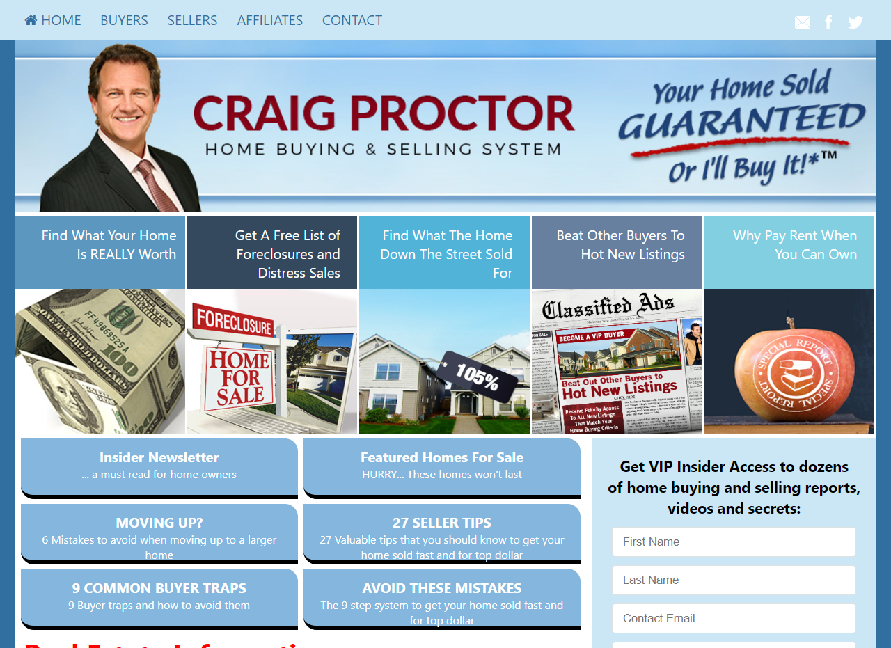 Branded SuccessWebsite Example