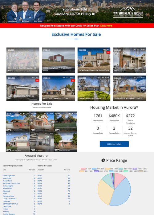 SuccessWebsite HDX - Example Home Page